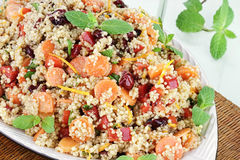 Citrus Couscous Salad Royalty Free Stock Photography