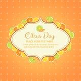 Citrus dag Fotografering för Bildbyråer
