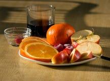 Citrus dessert Stock Image