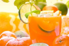Citrus Drink stock photography