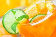 citrus drinka fotografia stock