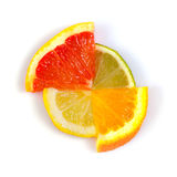 Citrus figure Royalty Free Stock Images