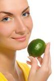 citrus flicka Royaltyfria Bilder