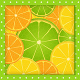 Citrus frame Stock Photo