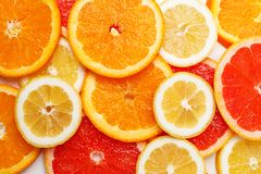Citrus fruit background. Lemon raw ripe fresh healthy organic natural juicy orange food sweet vitamin yellow nutrition nature peel portion agriculture tropical stock photography
