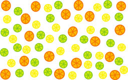 Citrus Fruit Background Stock Image