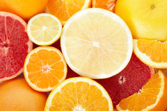 Citrus fruit background Royalty Free Stock Images