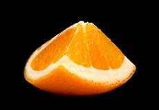 Citrus fruit on black Stock Images