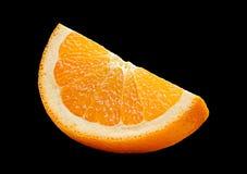 Citrus fruit on black Stock Image