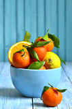 Citrus fruit in a bowl. Royalty Free Stock Image