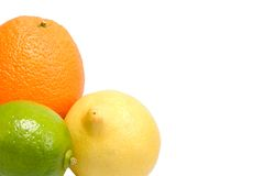 Citrus fruit corner Stock Photo