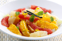 Citrus Fruit Dessert Royalty Free Stock Image