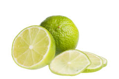 Citrus fruit food  isolated over white Royalty Free Stock Image