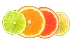 Free Citrus Fruit Isolated On White Royalty Free Stock Image - 28520086