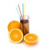 Citrus fruit juice Stock Images