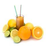 Citrus fruit juice Royalty Free Stock Photo
