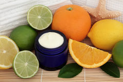 Citrus Fruit Spa Stock Photography