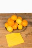 Citrus fruit still life Stock Image