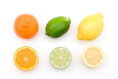 Citrus fruits Royalty Free Stock Images
