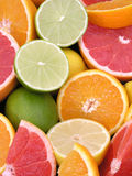 Citrus Fruits. Colorful Citrus Fruits Stock Photos