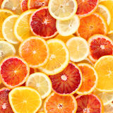 Citrus fruits background Royalty Free Stock Photo