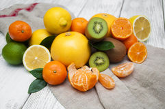 Citrus fruits Royalty Free Stock Photography