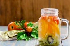 Citrus fruits and kiwi Royalty Free Stock Photos