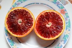 Citrus fruits of Sicily - Italy Royalty Free Stock Images