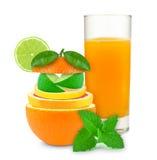 Citrus fruktsaft Royaltyfria Bilder