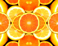 Citrus Fuits - orange, lemon Stock Photography