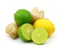 Citrus And Ginger Royalty Free Stock Photos
