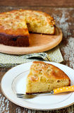 Citrus grape cake Royalty Free Stock Photography