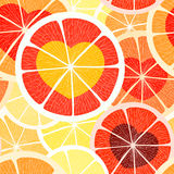 Citrus hearts Royalty Free Stock Image