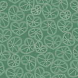 Citrus hearts seamless pattern Royalty Free Stock Photos