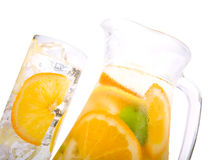 Citrus Ice Water Royalty Free Stock Image