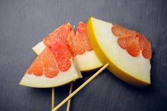 Citrus isolated pomelo fruit Stock Photo