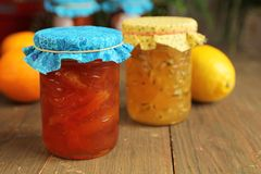 Citrus jam Stock Photos