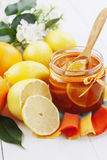 Citrus jam Stock Photography