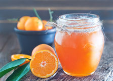 Citrus jam Royalty Free Stock Photos
