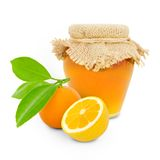 Citrus jar Royalty Free Stock Photo