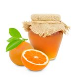 Citrus jar Royalty Free Stock Image