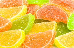 Citrus jelly candy Royalty Free Stock Photography