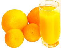 Citrus and juice Royalty Free Stock Image
