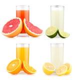 Citrus juice Stock Photo