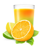 Citrus juice Stock Photography