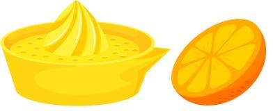 citrus juicer stock illustrationer