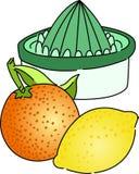 Citrus Juicer vektor illustrationer