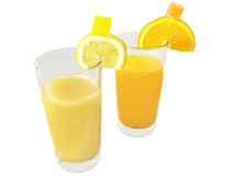 Citrus juices Royalty Free Stock Images