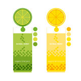 Citrus juices vector illustration