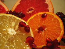 Citrus. Juicy citrus fruits that you want to try Stock Image